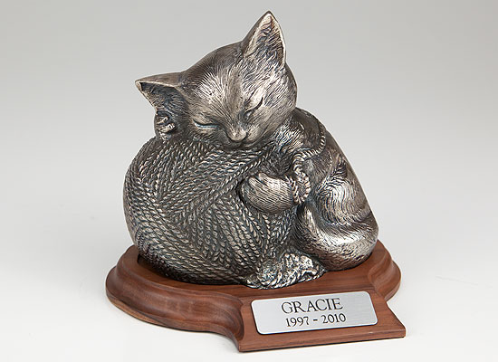 Cat Urn cat Urn for ashes Cat urn with picture Pet Urn for cats